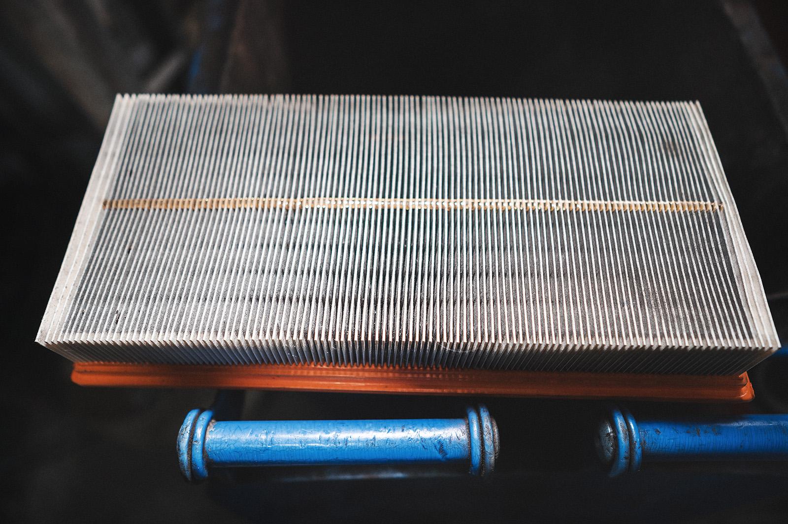 Воздушный фильтр после 7500 километров пробега