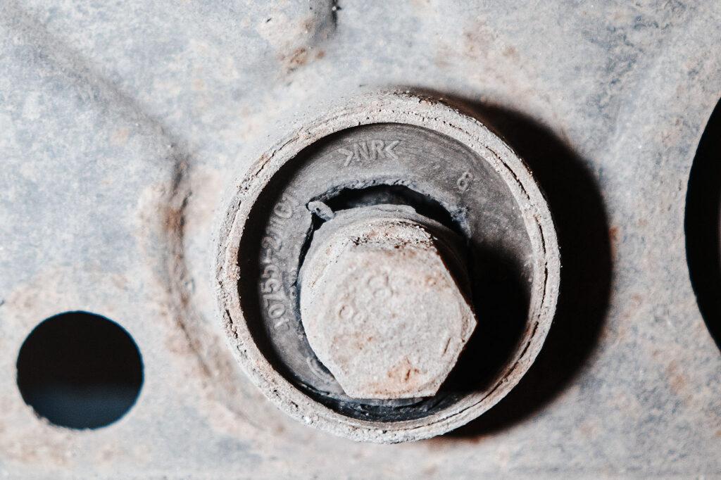 Надрыв сайлентблока вокруг втулки